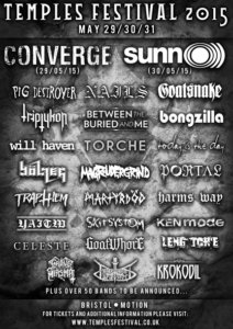 Sunn O))) Are Confirmed As Saturday Headliners For Temples Festival, Plus More Bands Announced