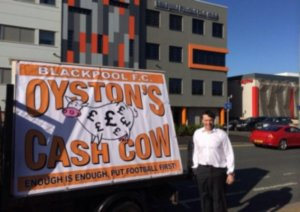 football fans announce big anti Oyston rally in Blackpool May 2nd