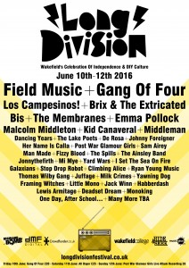 News: Long Division Festival Announce More Bands