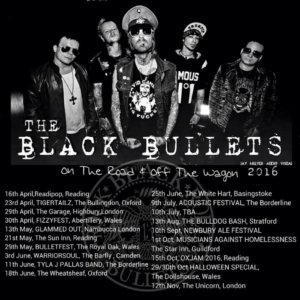 The Black Bullets: tour dates and new video for Firefly – forget Axl & AC/DC these are Metals New Leper Messiahs