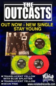 The Outcasts : Stay Young – new single video premiere and retrospective