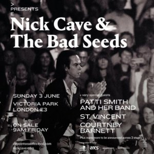 Nick Cave/Patti Smith for huge London show