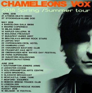 Chameleons Vox – Mark Burgess reveals his influential and favourite albums.