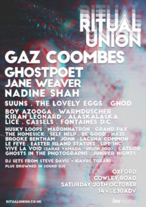 Ritual Union Festival Promoter Gives LTW His Top 10 Picks