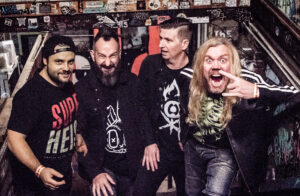 Video Premiere: Goatzilla: Nightmare – post-pandemic good-time, Heavy Metal rock and roll