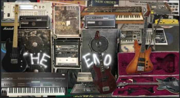 A NEW ORDER EXHIBITION & AUCTION FROM PETER HOOK'S PRIVATE COLLECTION
