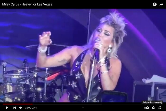 Now, Miley Cyrus covers the Cocteau Twins!